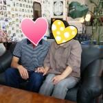 O君40才 Kさん39才 ほのぼのカップルのご誕生です