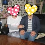 祝。40代再婚同士の最高なカップルです。